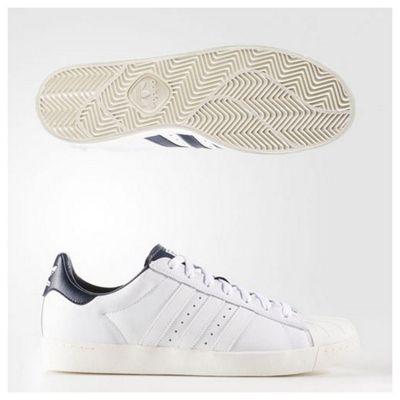 adidas Originals Mens Superstar Vulc ADV Skateboarding Trainers - 3.5