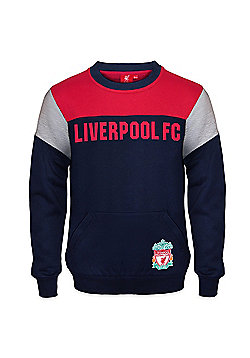 Liverpool FC Boys Sweatshirt - Navy