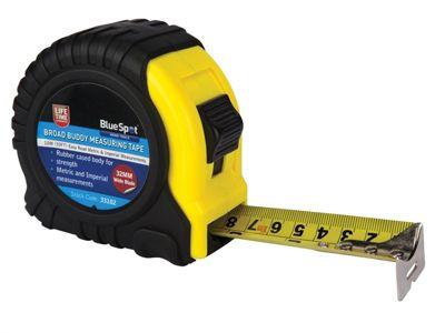 Blue Spot Tools Broad Buddy Pocket Tape 10m/33ft (Width 32mm)