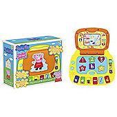 Peppa Pig Laugh and Learn Laptop