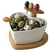 Heart Shaped Olive Set