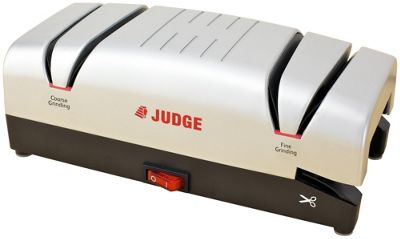Judge Electric Knife and Scissor Honer and Sharpener in Silver