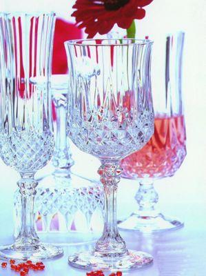 Cristal d'Arques Diamax CDA 17cl Longchamp Set of 6 Wine Glass