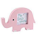 Pink Elephant Picture Frame