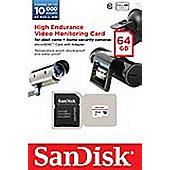 Sandisk 64GB microSDXC Class 10 memory card