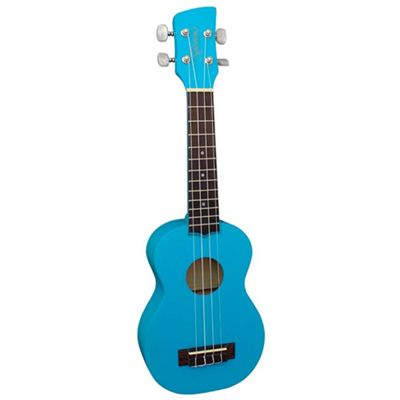 Brunswick Soprano Ukulele with Aquila Strings - Blue