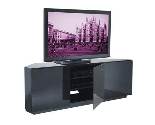 UK-CF Cityscape Milan TV Stand - Black