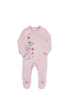 Disney Bambi Velour All in One - Pink