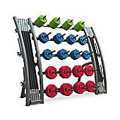 Bodymax Studio Barbell Set Rack - 20 Set Capacity