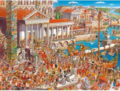 Ancient Rome - triangular - 1500pc Puzzle