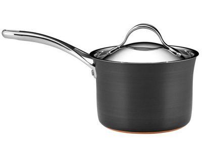 Anolon Nouvelle Copper Base 18cm Saucepan with Lid