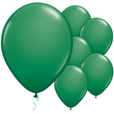 Green 11 inch Latex Balloons - 25 Pack