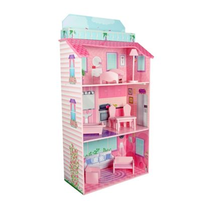 Teamson Kids Glamour Mansion Fold-in Doll House