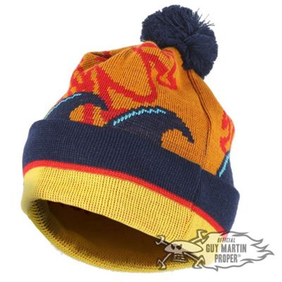 Guy Martin 'Basil The Fox' Head Gasket Bobble Hat / Beanie PomPom