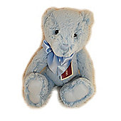 Charlie Bears My First Charlie Bear 20cm Powder Blue Plush Teddy Bear