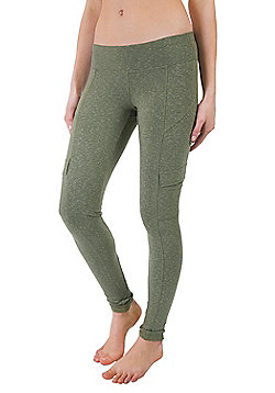 Zakti Cargo Leggings - Green