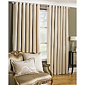 Riva Home Devere Eyelet Curtains - Cream