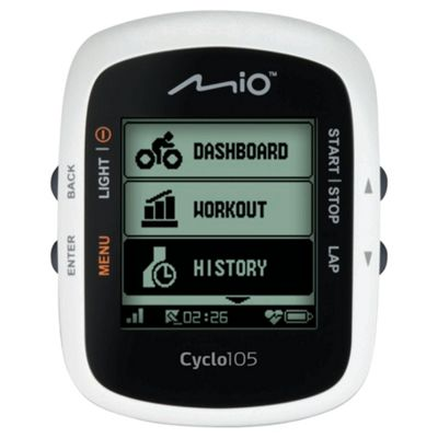 Mio Cyclo 105 Heart Rate GPS Bicycle Navigation Computer