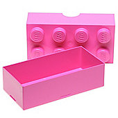 LEGO Storage Lunch Box 8, Pink