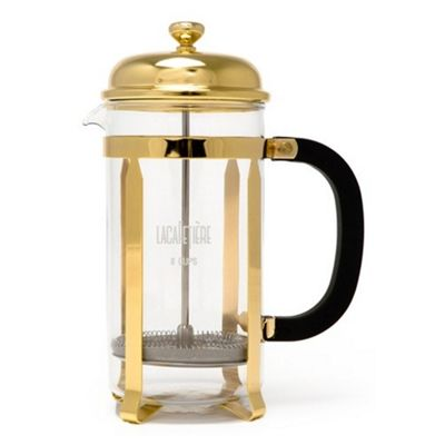 La Cafetiere Classic 8 Cup Coffee Maker in Gold
