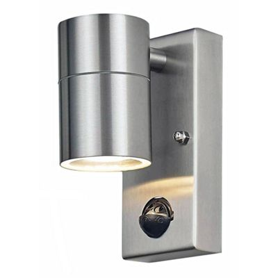 Contemporary Stainless Steel Sensor Outdoor Downlight