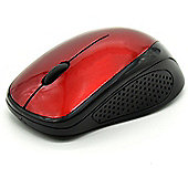 Maplin Wireless Mouse - Red