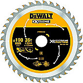 Dewalt XR Extreme Runtime SAEGE Sheets Hand Circular Saw 190 x 30 mm Pack of 1 DT99563 36 WZ/FZ/qz
