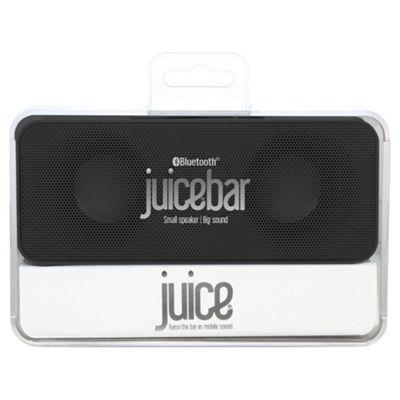 Juice Bar 2 x 3W Wireless Bluetooth Stereo Speaker - Black