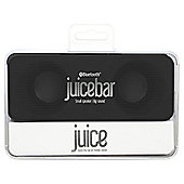 Juice Bar 2 x 3W Wireless Bluetooth Stereo Speaker - Black