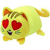 TY Teeny Emoji Movie Cat Heart Eye