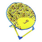 Hgl 13132 Fun Folding Emoji Moon Chair