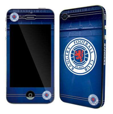 Official Rangers FC iPhone 4/4S Skin