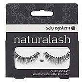 Salon System Naturalash Re-Usable Black 100 Lashes