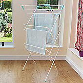 14M - 3 Tier Clothes Airer - White