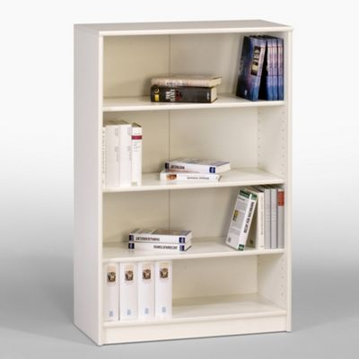Maja-Möbel Shelves in White Lacquered Style