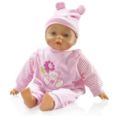 Bambolina Bebe 34cm Talking Doll