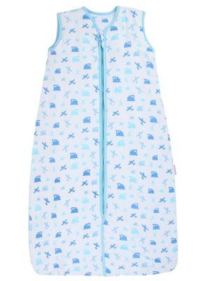 Snoozebag Baby Sleeping Bag - Planes & Trains (2.5 tog, 0-6 months)