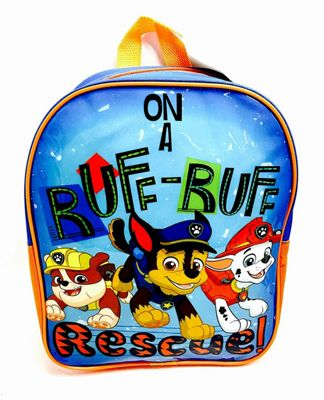 Paw Patrol 'Ruff' Junior School Bag Rucksack Backpack