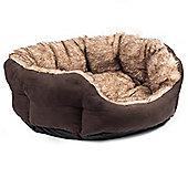 Ancol Luxurious Soft Plush Pet Bed - 63.5cm