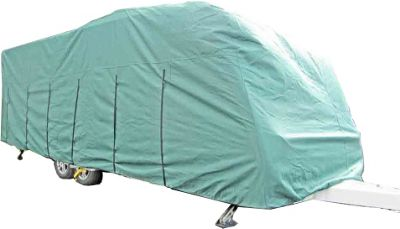 OLPRO Caravan Cover (Green) 5.0m to 5.6m (16'-18')