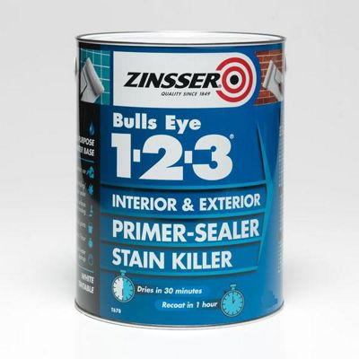 Zinsser Bulls Eye 1-2-3 - Primer-sealer - Stain Killer - 500ml