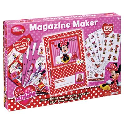 Minnie Mouse Magazine Maker