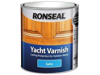 Ronseal YVS250 250ml Exterior Yacht Varnish Satin
