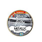Nickelodeon Liquid Lava Putty Metallic Silver Stream