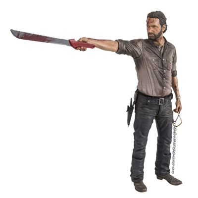 Walking Dead TV Series Vigilante Rick Grimes 10 inch Deluxe Action Figure - Action Figures/Figures
