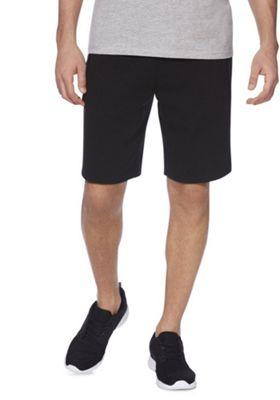 F&F Drawcord Sweat Shorts Black 4XL