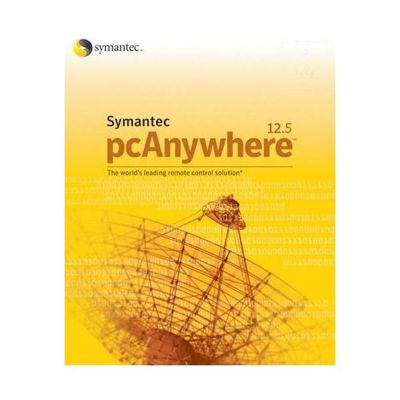 Symantec pcAnywhere 125 Host/Remote Per Server System Builder Essentials (1 Pack, 1 year)