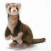 Hansa 32cm Standing Ferret Soft Toy