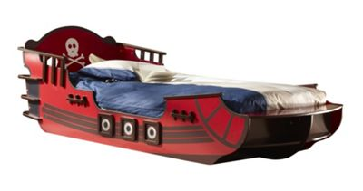 Altruna 'Crazy Shark' Pirate Themed Bed Frame