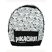 Pokemon Pikachu Backpack Black and White